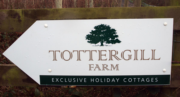 Tottergill signboard